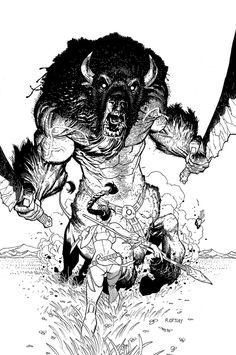 Variant cover for Manifest Destiny, Skybound/Image comics. Comic Book Artists, Comic Book Characters, Comic Artist, Comic Books Art, Reference Manga, Comic Kunst, Fantasy Kunst, Comic Styles, Image Comics