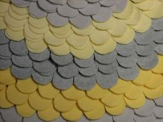 Gray and Yellow Nursery Rug   The BELLANOTTE by GiulianaDesign, $97.00