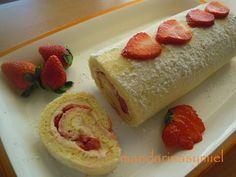 BRAZO GITANO  - Brazo con fresas y queso