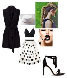 """.-."" by nene-gibson ❤ liked on Polyvore featuring Alice + Olivia and Alexandre Birman"