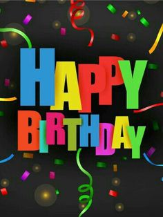 Send Free Colorful Confetti Happy Birthday Card to Loved Ones on Birthday & Greeting Cards by Davia. It's free, and you also can use your own customized birthday calendar and birthday reminders. Birthday Greetings For Men, Hd Happy Birthday Images, Happy Birthday Man, Birthday Wishes Cards, Happy Birthday Messages, Birthday Greeting Cards, Surprise Birthday, Cake Birthday, Happy Birthday Grandma