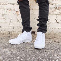 Classic  Vans Sk8-Hi Slim Sneaker I Sku: 30864532 I #Vans #UOMens #UOonYou #UrbanOutfitters