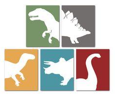 Dinosaur Silhouette Inspiration