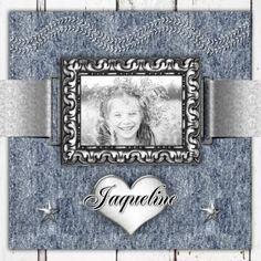 Jarig fotolijst hart en jeans - Verjaardagskaarten - Kaartje2go