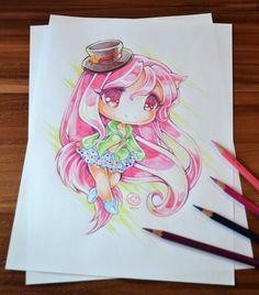 Chibi Fox Girl by Lighane on DeviantArt