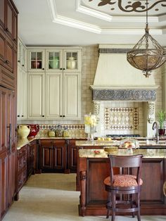 Mediterranean Kitchen Design, Pictures, Remodel, Decor and Ideas - page 3