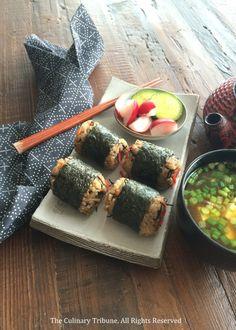 Veggie Hijiki Ginger Onigiri (Japanese Rice Balls) 五目おにぎり | The Culinary Tribune