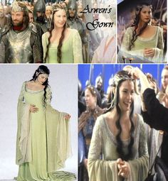 I wouldn't mind having an Arwen-style wedding gown, myself. :P