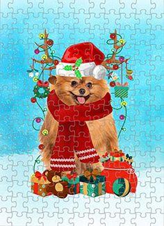Pomeranian Dog in Snow Jigsaw Puzzle, Christmas, 1000 Pieces Jigsaw Puzzle PrintYmotion #Pomeranian #Dog Lovers gift #Christmas Gift #Christmas Puzzle Christmas Jigsaw Puzzles, Christmas Puzzle, Great Christmas Gifts, Christmas Dog, Christmas Ornaments, Gift For Lover, Lovers Gift, Dog Lovers, Dog Puzzles