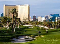 Golfing at Bali Hai Golf Course in Las Vegas