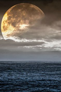 "beautymothernature: ""Big Moon by Giorgio share moments """