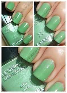 Chanel: Jade 407.