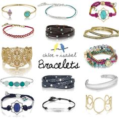 Chloe and Isabel Bracelets... Obsessed with stacking about three of these together, Come on guys.. How gorgeous?!