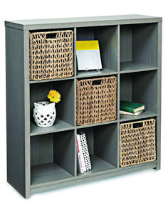 Add some modern storage and display option to your living room or bedroom with the Honey Can Do Premium Laminate Open Back Bookcase . This handsome bookcase. Closet Storage Systems, Cube Storage Unit, Cube Shelves, Storage Shelves, Storage Spaces, Shelving, Timber Shelves, Open Shelves, Shelf