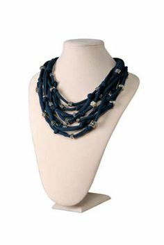 Jewelry Twists Casual All-Over Bead Necklace