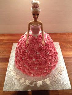 Barbie-prinsesse kage - barbie-princess cake