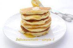 Délicieusement... simple !: Pancakes citron-ricotta