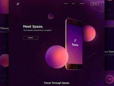 Spaze App Landing Page