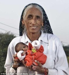 Meet Rajo Devi Lohan, the Indian woman who, in November 2008, gave birth to her first child - at the age of 70