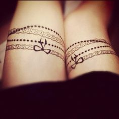 Tattoo - bracelet, love it