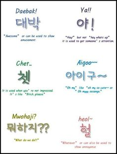Korean everyday terms you MUST know