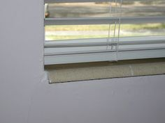 Tile Window Sills can be covered up with a custom trim design at the shutter installation