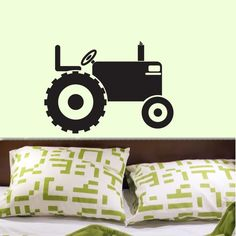 Tractor Customized Vinyl Wall Decal Graphics by by decomodwalls, $16.00