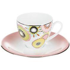 Missoni Home Margherita - Teacup & Saucer - (Set of 2)