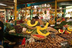 Mercado Santa Rosa, in Lima, Peru