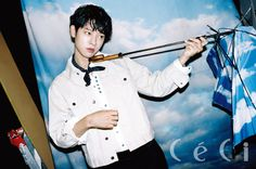 Jung Joon Young showed his rockstar looks in the August issue of Ceci. During his interview, he talked about his new band album, crushes and his primary goal in life. Jung Joon Young, Weightlifting Fairy Kim Bok Joo, 1st Night, Happy Pills, New Bands, Esquire, Dj, Photoshoot, Magazine