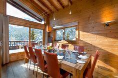 Ski Lodge Aurore in Meribel, France - White Blancmange