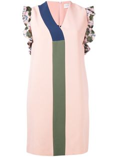 PARDENS   printed shift dress Day Dresses, Shift Dresses, Pink Dresses, Evening Dresses, Spandex, Sunglasses 2017, Fashion Sewing, Color Rosa, Daily Fashion