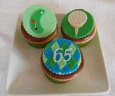 Golf Theme Fondant Cupcake Cookie Toppers on Etsy, $21.00 Golf Cupcakes, Fondant Cupcakes, Cupcake Cookies, Golf Theme, Birthday Cakes, Cake Ideas, Party Themes, Babies, Cooking