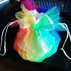 Regenbogen Beutel Tasche Rainbow Poutch Bag