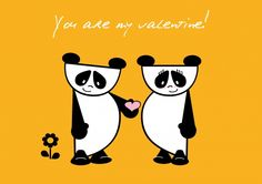 Does & Friends Valentijn 'You are my valentine!' (2) (Design by www.zoolies.nl)