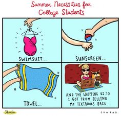 Summer Necessities for College Students