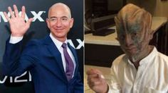 Jeff Bezos in person and as an alien in Star Trek Beyond