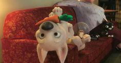 Funny Cartoon Dog Doggu The Dog Wallcoo Net Litle Pups Chris Williams, Cute Disney Wallpaper, Cartoon Wallpaper, Arte Disney, Disney Magic, Disney And Dreamworks, Disney Pixar, Bolt Dog, Bolt Disney