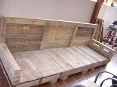 1000 images about bricolaje y manualidades on pinterest for Sofa exterior con palets