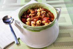 Slow Cooker Pasta Fagioli Soup
