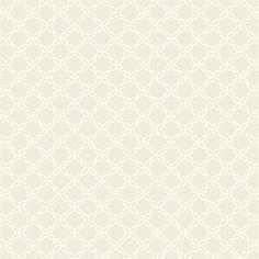 Beige Geometric Trellis Wallpaper