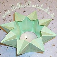 waldorf star lantern / step by step tute