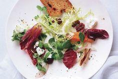 Radicchio Salad with Oranges and Olives
