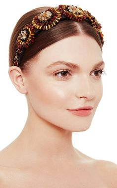 Amber Bouquet Headband by Masterpeace Now Available on Moda Operandi