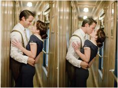 Vintage Railroad Inspired Engagement Shoot - Inspired By This Vintage Engagement Photos, Engagement Shots, Engagement Photo Poses, Country Engagement, Engagement Photo Inspiration, Fall Engagement, Engagement Pictures, Engagement Photography, Baby Belly Pictures