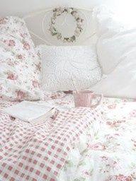 Pink Shabby Bedding