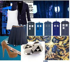 """""""MF-ing Tardis Tattoo"""" by death-to-teddy on Polyvore"""