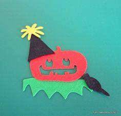 Die cut felt halloween by FeltCreationsbyDGNCY on Etsy Halloween Garland, Die Cut, Diys, Felt, Ornaments, Unique Jewelry, Handmade Gifts, Vintage, Kid Craft Gifts