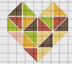 Cross Stitching, Cross Stitch Embroidery, Embroidery Patterns, Hand Embroidery, Crochet Patterns, Cross Stitch Designs, Cross Stitch Patterns, Cross Stitch Heart, Tapestry Crochet