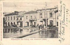 GALATI - Inundatiile  din str. Portului - 1898